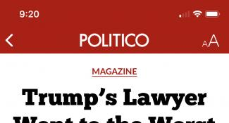 Politico News