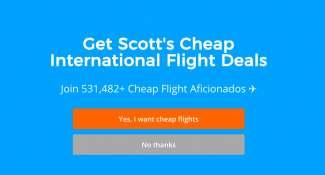 Scott's Cheap Flight Deals