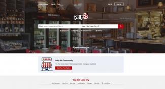 Yelp Homepage Design
