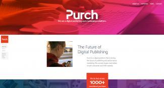 Purch Home Page Design