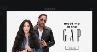 Gap Digital Advertisement