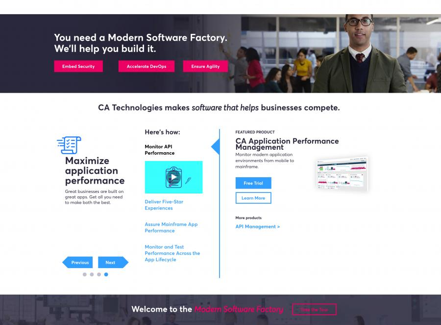 CA Technologies & Software