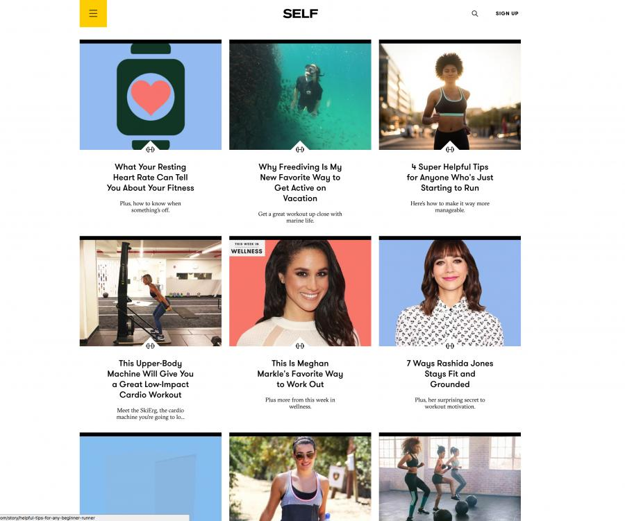 Self Women's Health Blog