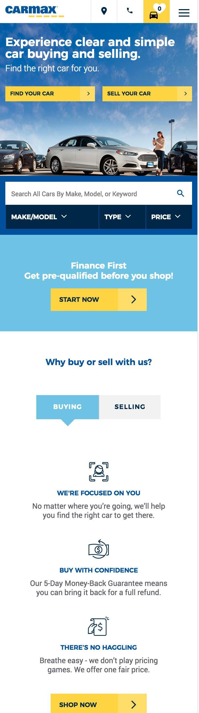 CarMax Car Sales