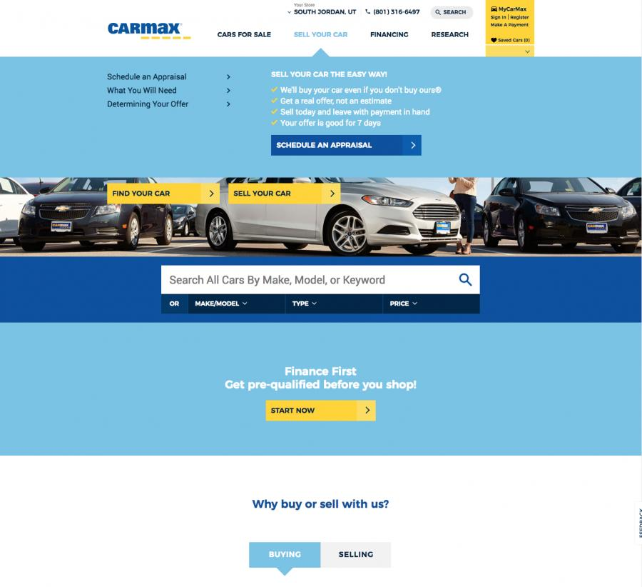 CarMax Car Dealer