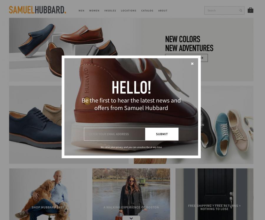 Samuel Hubbard Mens Shoes