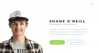 Shane O'Neill Skater Profile