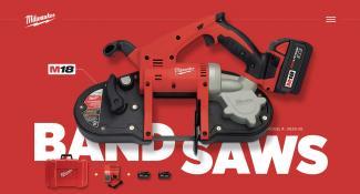 Milwaukee Tools Homepage
