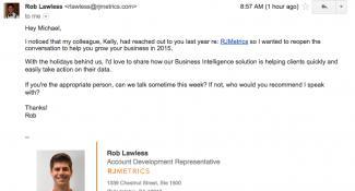 RJ Metrics Business Intelligence