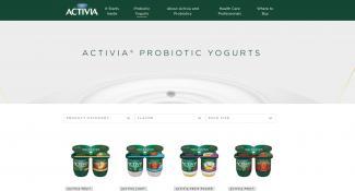 Activia Flavor  Categories