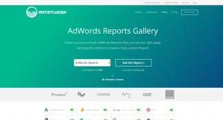 Report Garden Filter By Report Landing Page