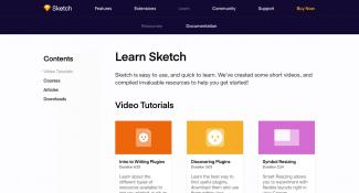 Sketch Video Tutorials  Page