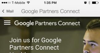Googles Partners Connect Mobile Web