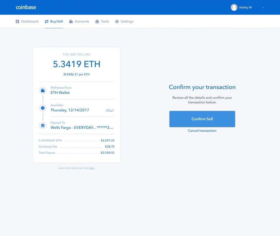 Coinbase Buy and Sell Digital Currency